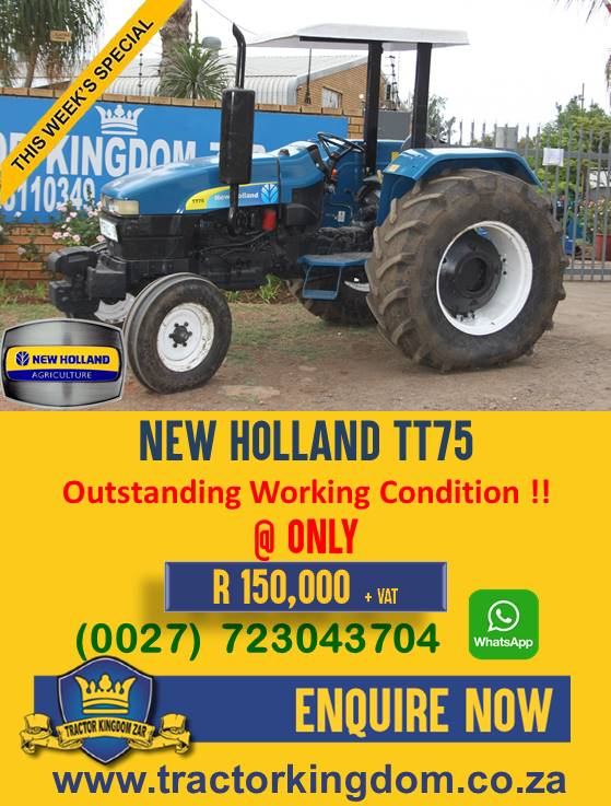 Used New Holland TT75 Tractor