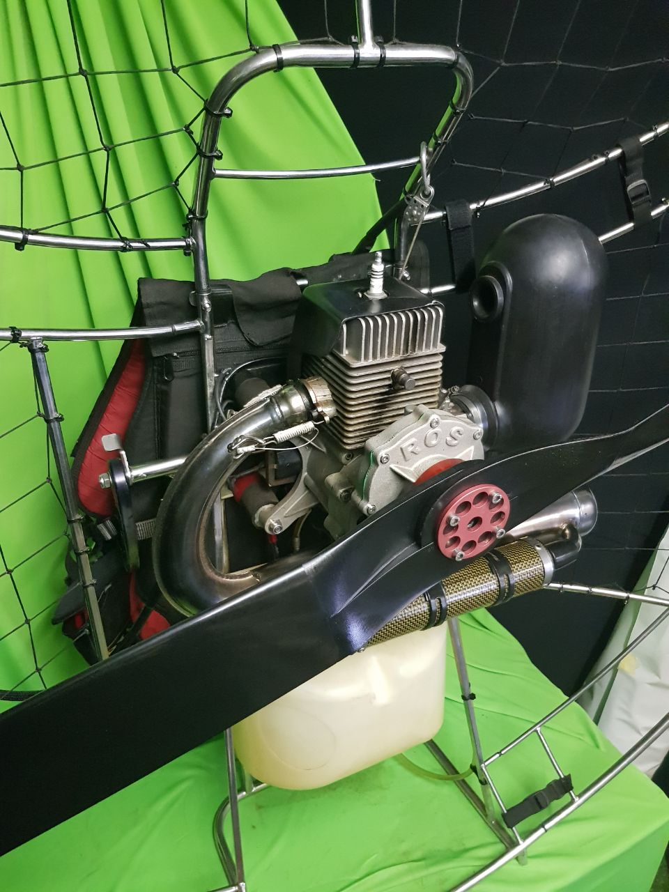 Paramotor PxP Ross 125 for sale