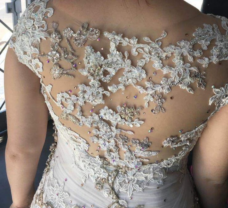 Werner Dey Wedding Gown For Sale