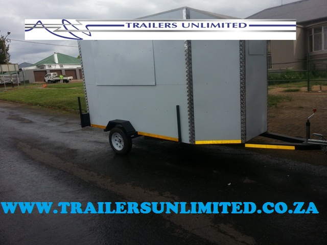 TRAILERS UNLIMITED MOBILE KITCHENS.