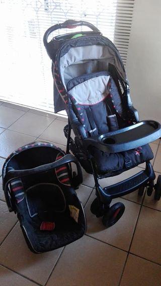 Pram and Car seat combo