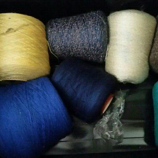 Passap Knitting Machine E 6000 & Wool