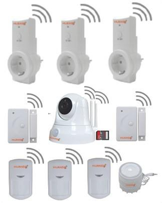 Huanso Wireless IP Camera Home Alarm System