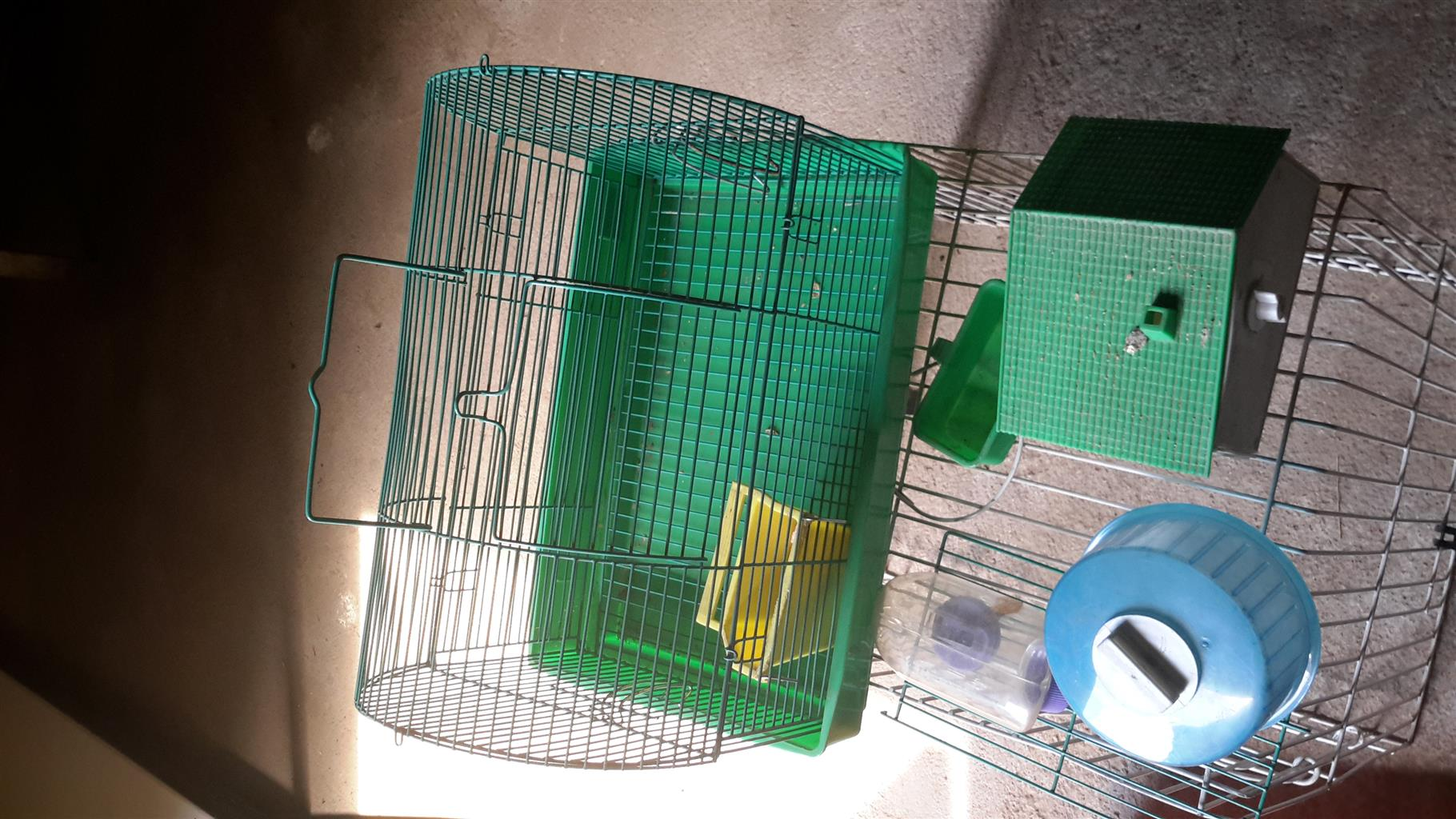Cages for hamsters, birds and other