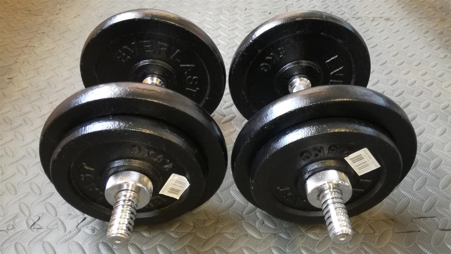 Everlast Dumbell Set 30kg