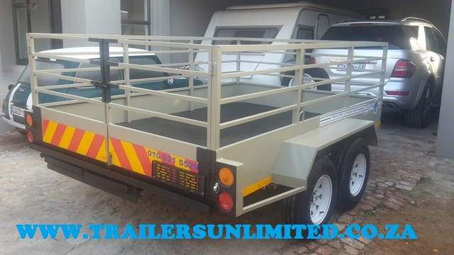 Double Axle Utility Trailer