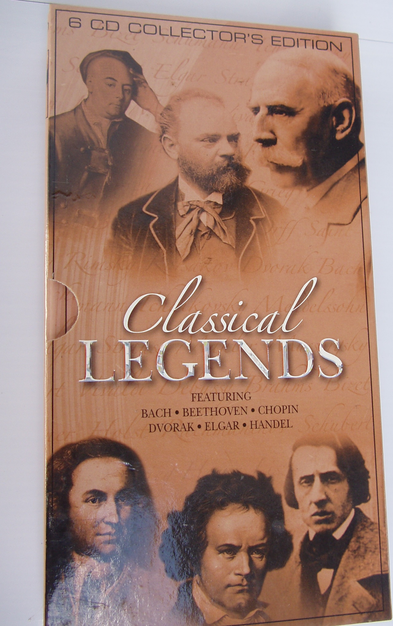 Classical Legends - 6CD Collectors Edition  - As new