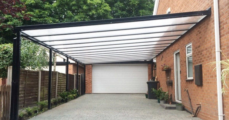 carport new steel 3x6m installed and painted R6700
