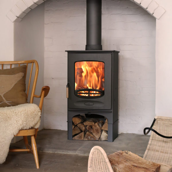 Heat combustion fireplace