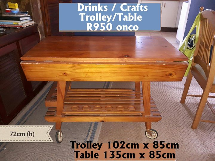 Drinks crafts Trolley