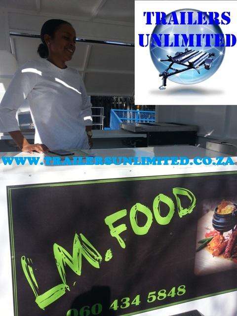Mobile Kitchen 1801 x 1600 x 2000