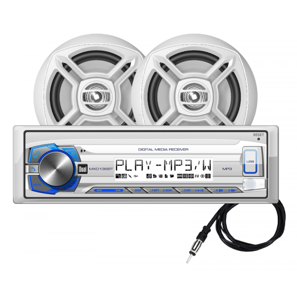Dual Marine MCP136BT Sound System for Boats