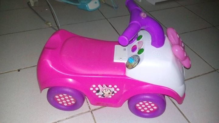 Minnie Mouse ride for a trike or boy clothing