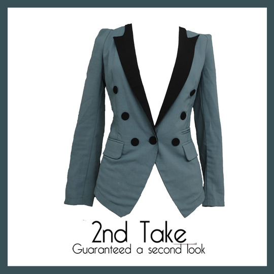 Get this Fang Cad Fen Fei formal blazer now