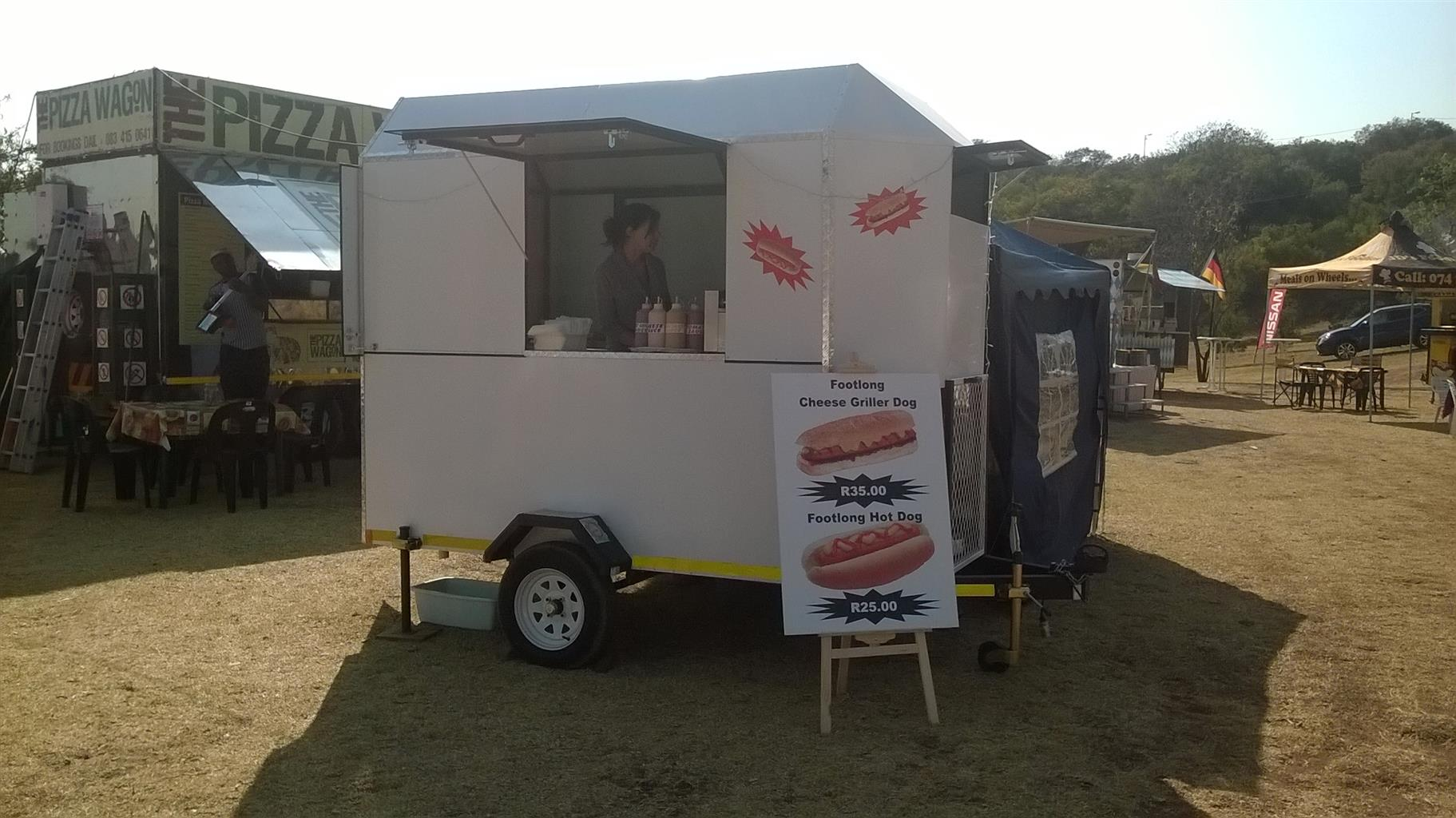 FOOD TRAILER...AMOST NEW