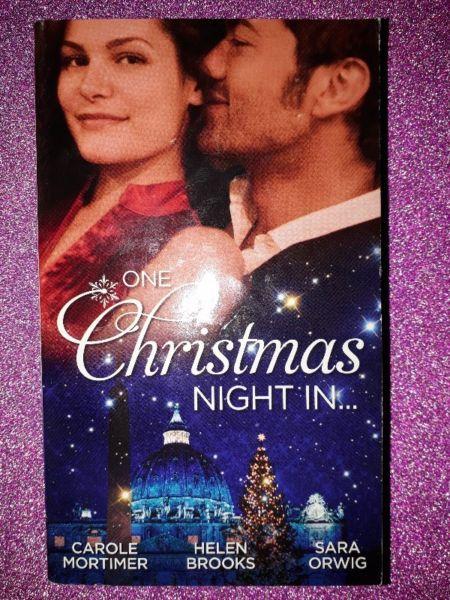 One Christmas Night in  – Carole Mortimer, Helen Brooks, Sara Orwig