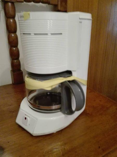 Coffee filter machine