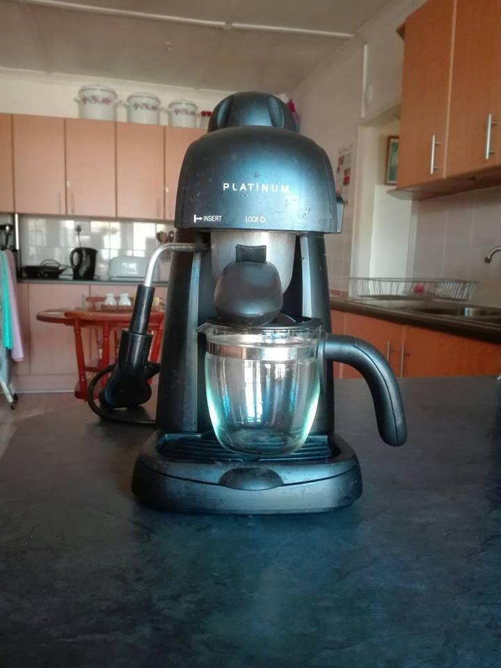 Platinum espresso/cappucino machine