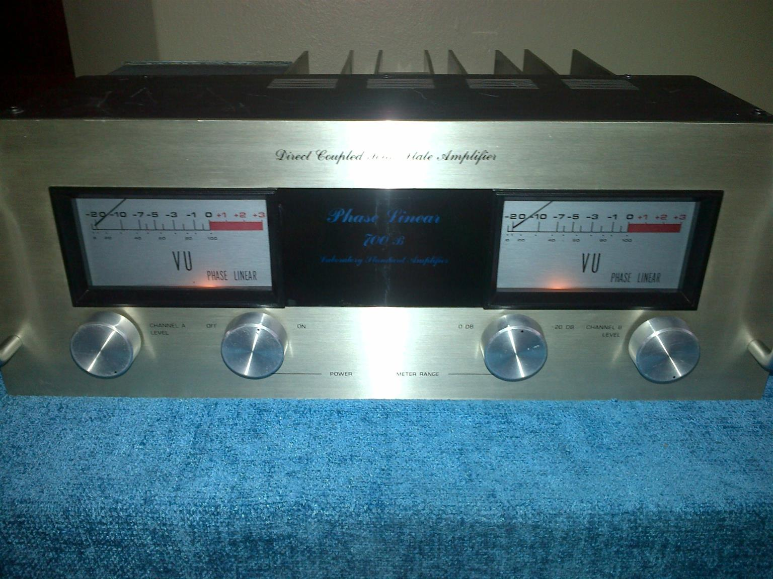 Phase Linear 700b Power Amp For Sale Junk Mail Direct Coupled Radio