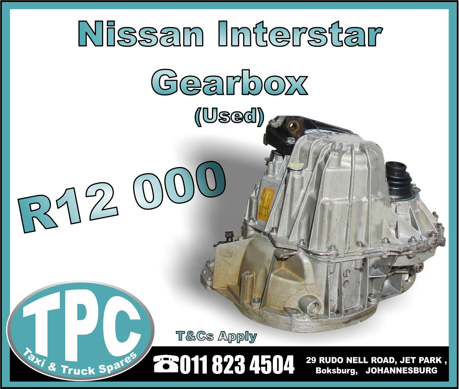 Nissan Interstar Gearbox - Used - New And Used Quality Replacement Taxi Spare Parts - TPC