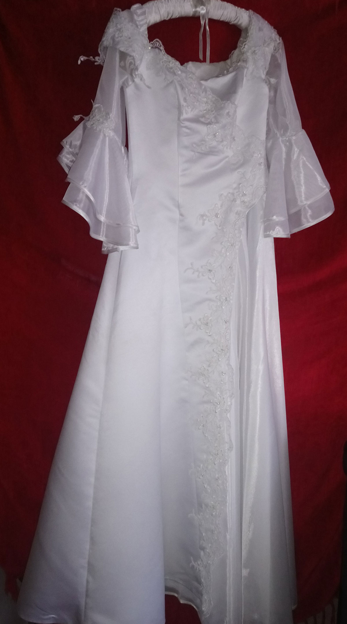 Wedding gown from Europe