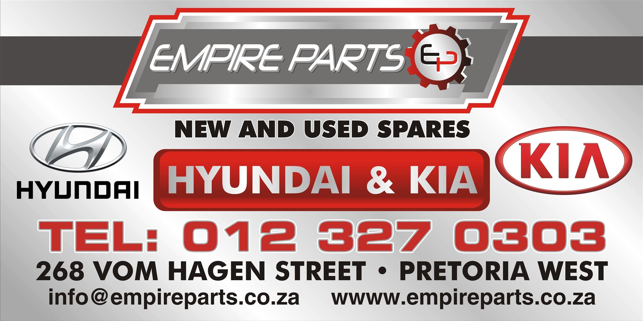 Hyundai and Kia New and Used spares and parts