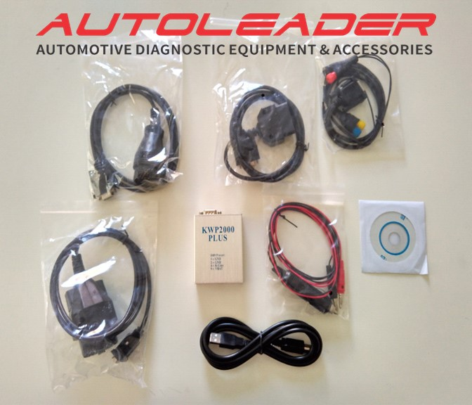 KWP2000 Plus OBDII OBD2 ECU Chip Tuning Tool ECU Flasher Smart Remapping