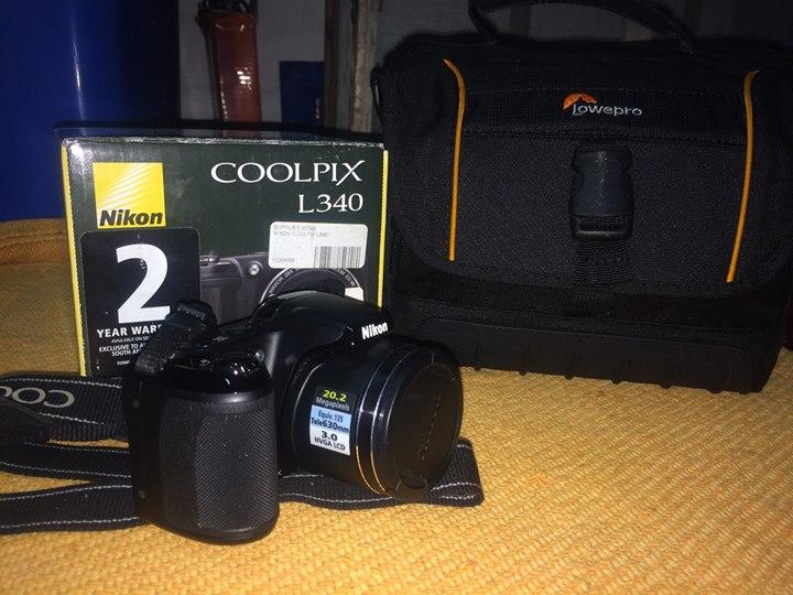 Nikon Coolpix L340 Camera / Video