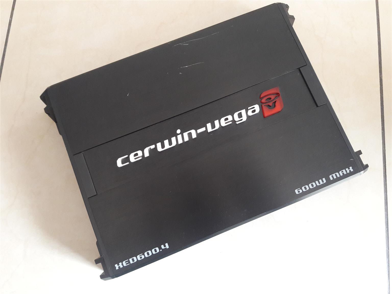 Cerwin Vega XED600.4 Car  Amplifier