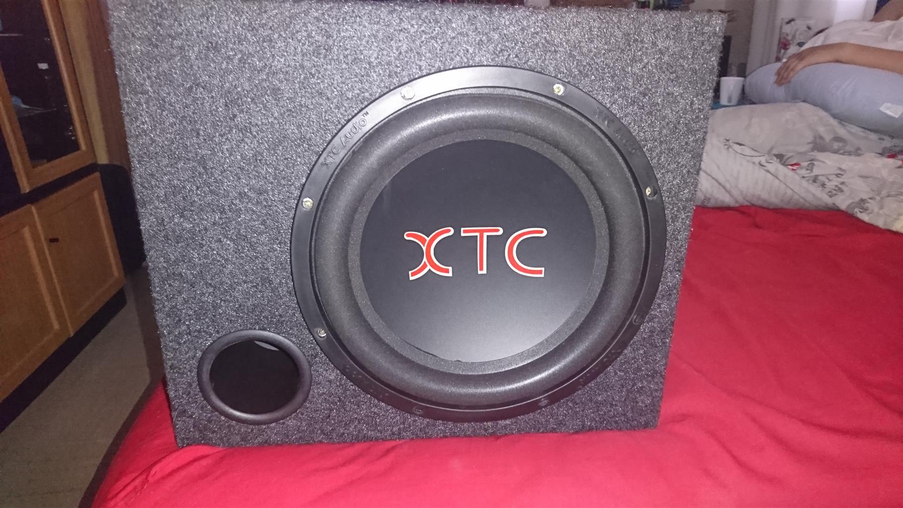 8000W XTC AMP AND 4000W XTC SUB