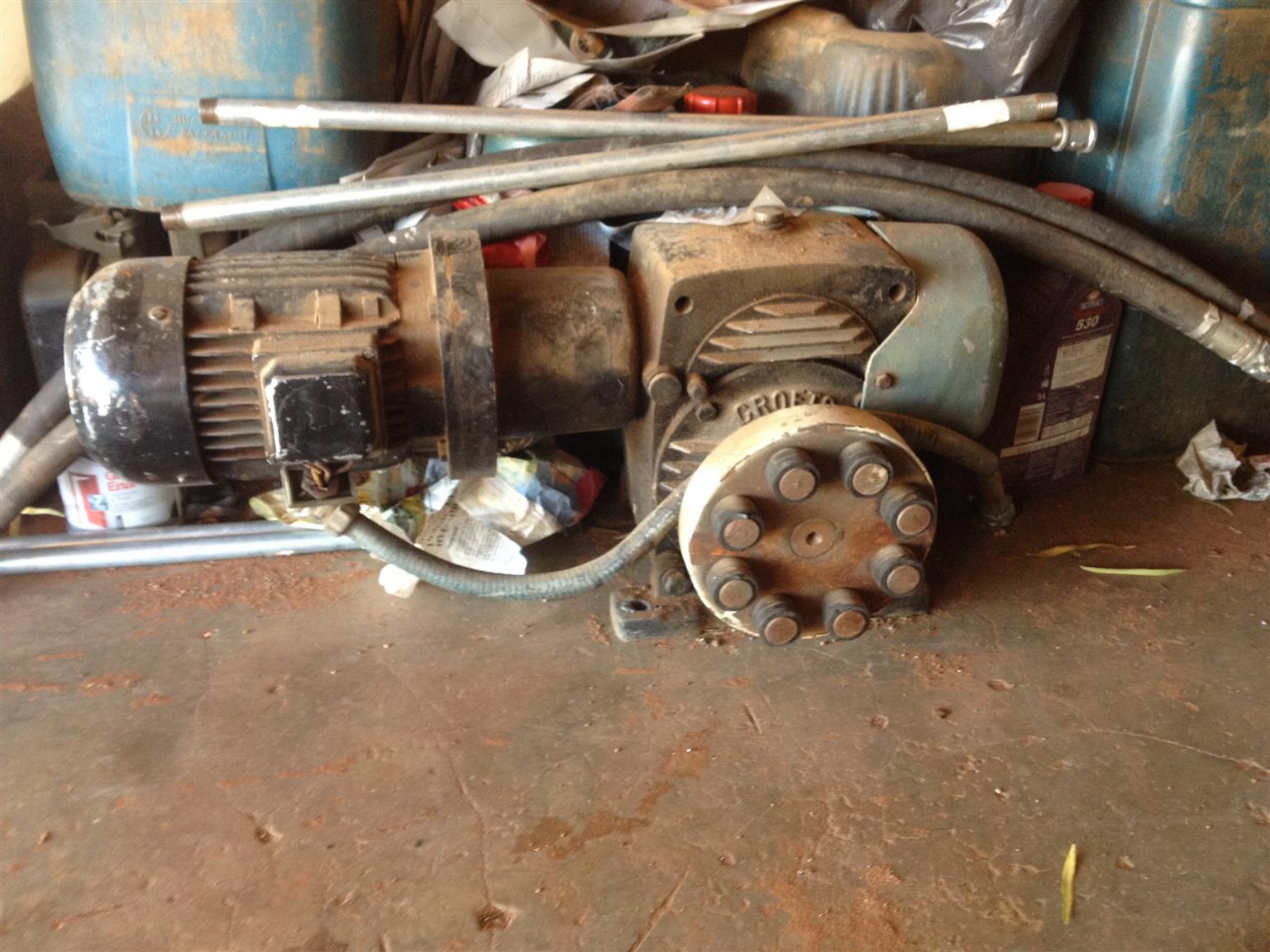 Reduction moter and gearbox