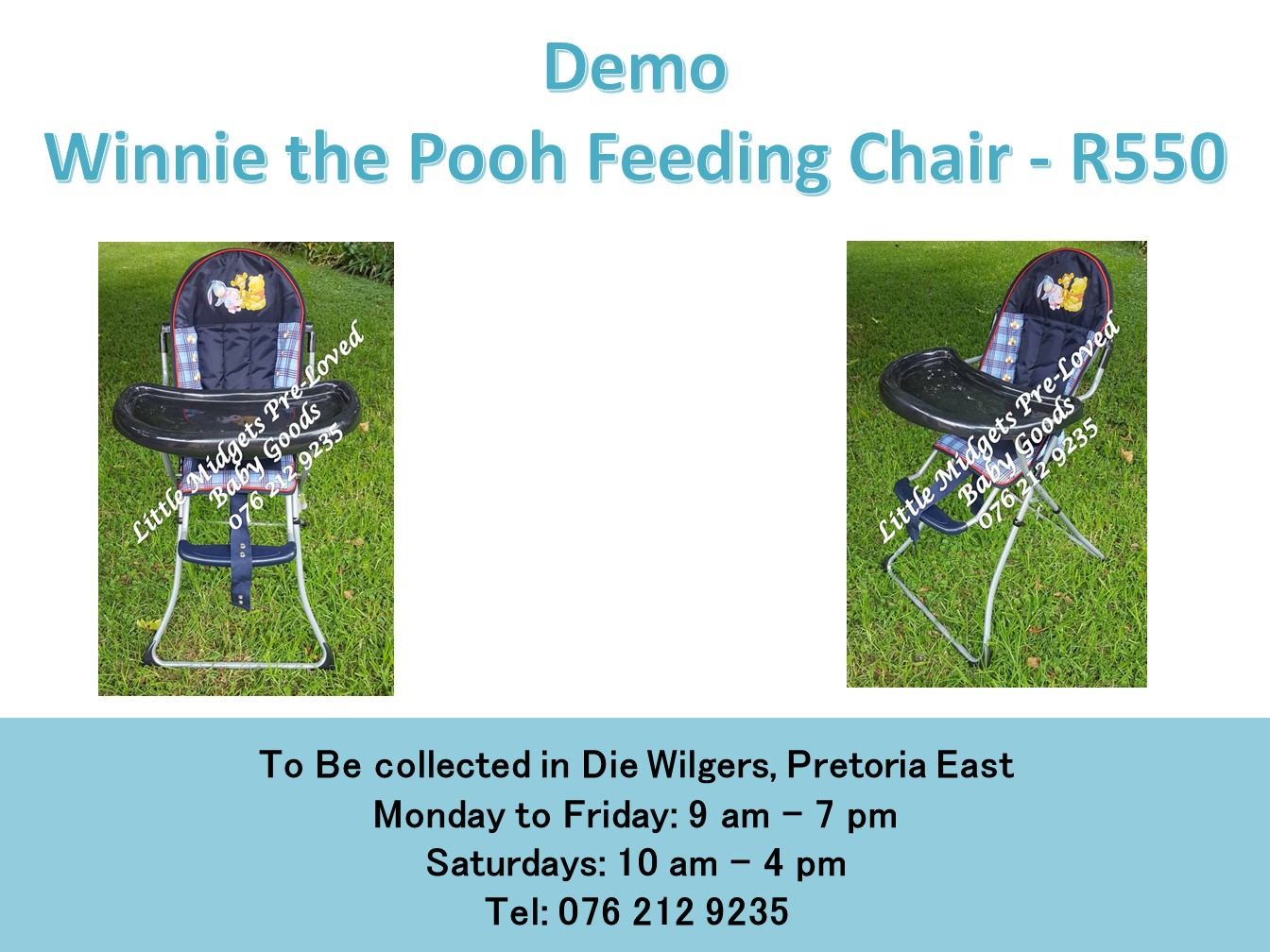 Demo Winnie the Pooh Feeding Chair
