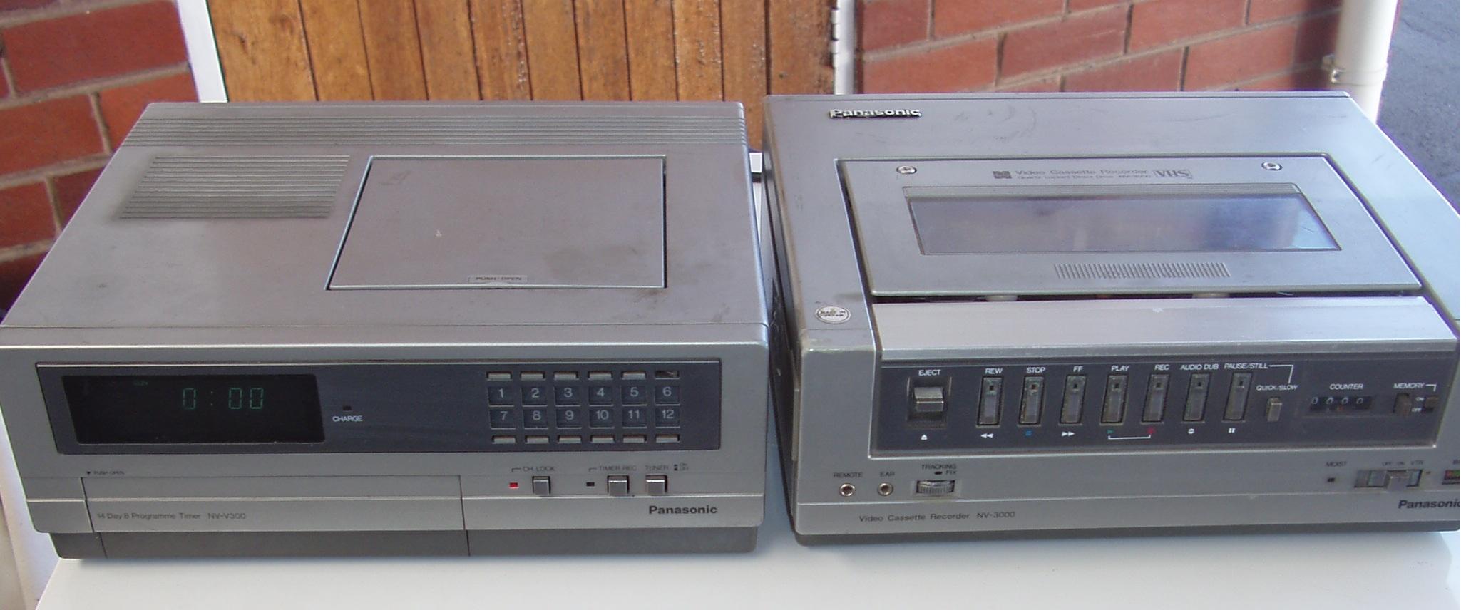 Panasonic Video Recording Equipment - in good condition