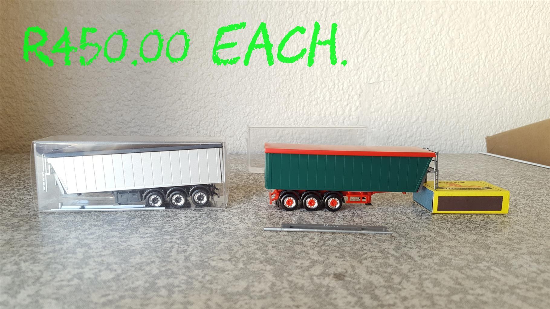 New truck models 1:87 Ho Scale