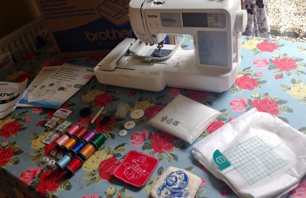 BROTHER INNOVIS 90E EMBROIDERY MACHINE