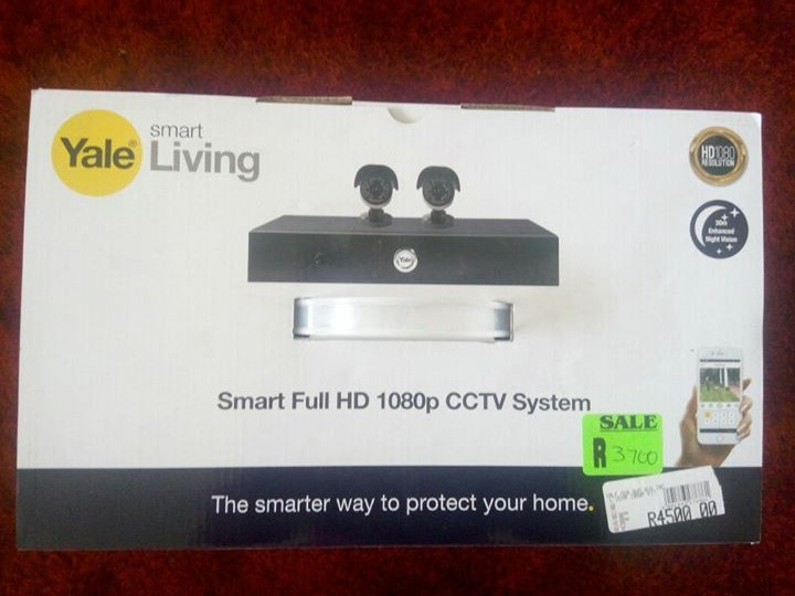 Smart full HD CCTV system