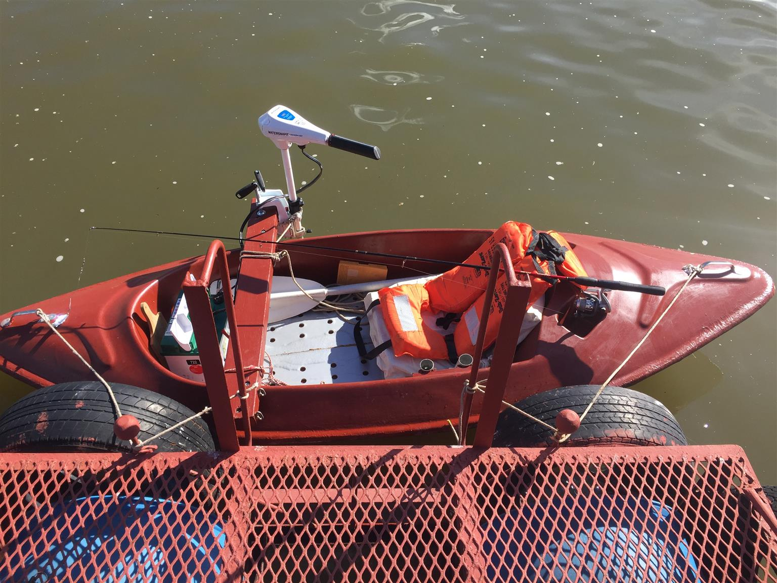 Motorized Bass CANOE (bass motor)