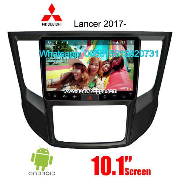 Mitsubishi Lancer 2017 car audio radio android wifi GPS camera