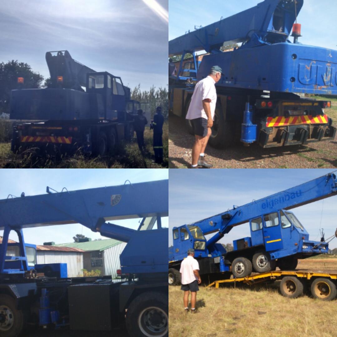 25Ton UNIC Mobile Crane