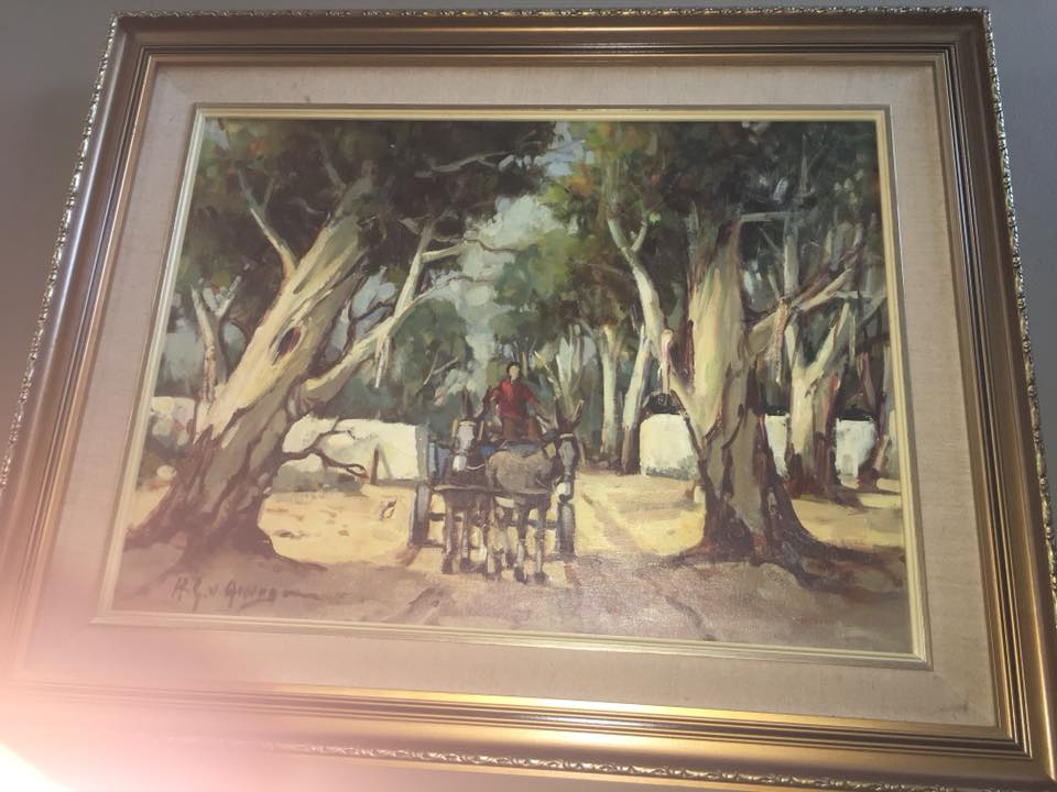 Forest scene painting for sale