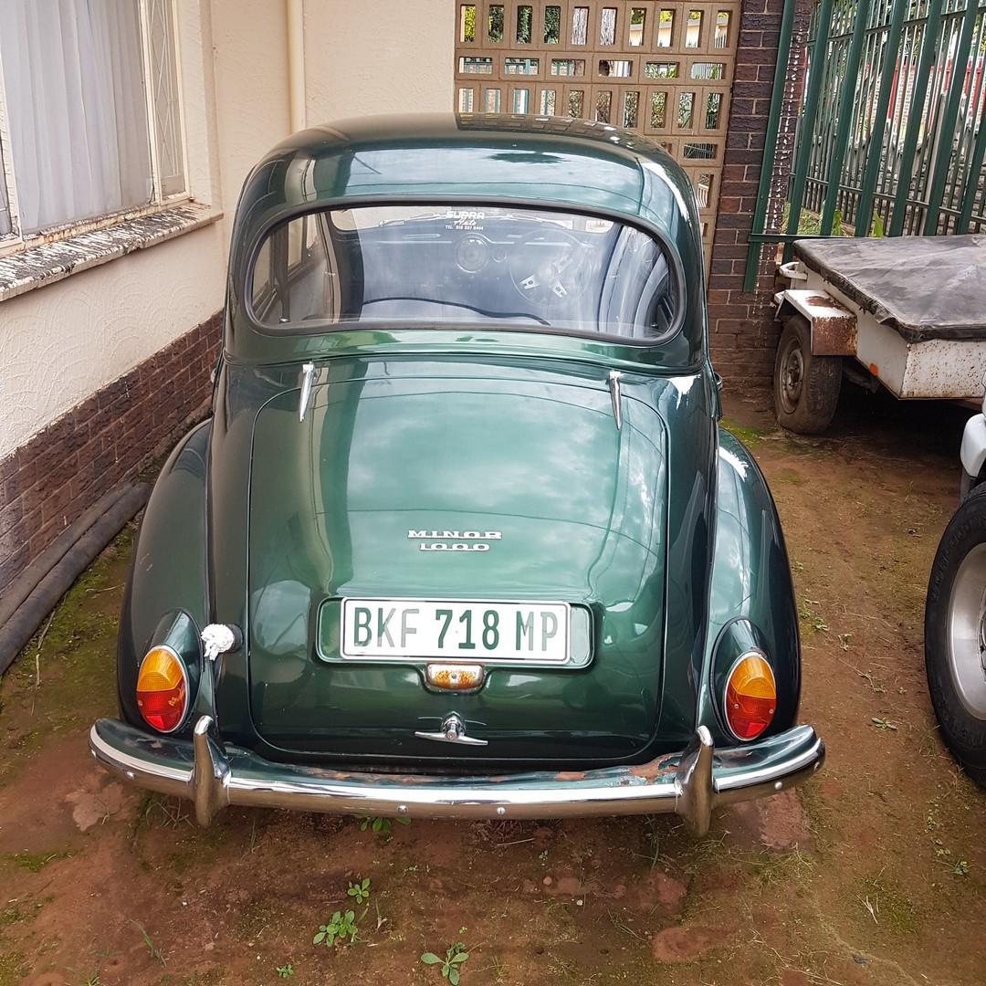 1960 Morris Minor 10