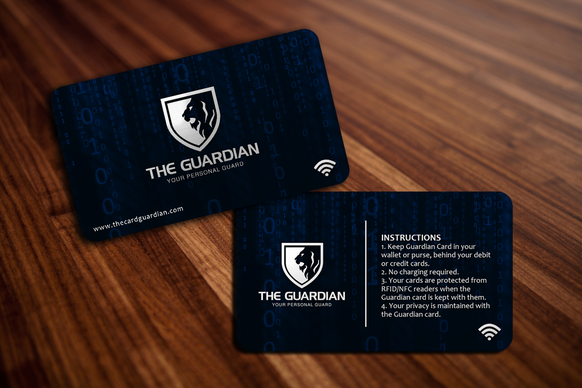 THE CARD GUARDIAN - RFID/NFC Credit/Debit Card Protector | Junk Mail