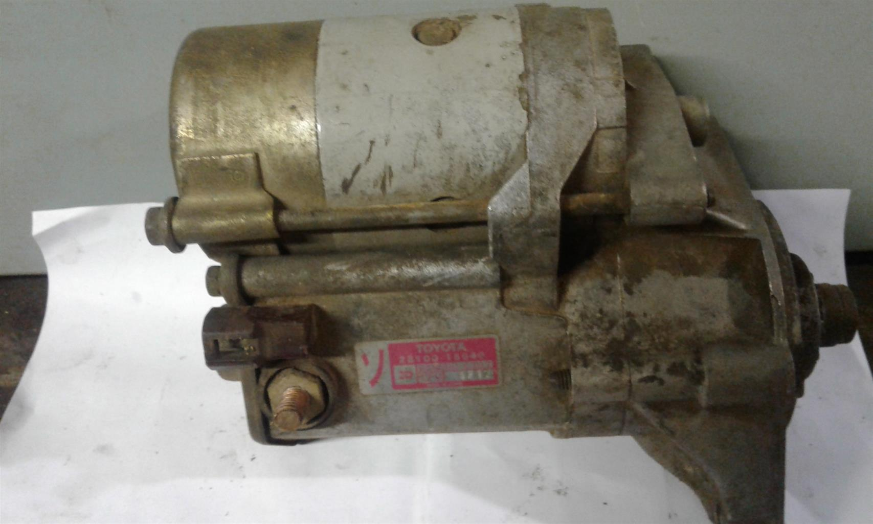 Toyota Cressida 3,0 L 6 cylinder  starter