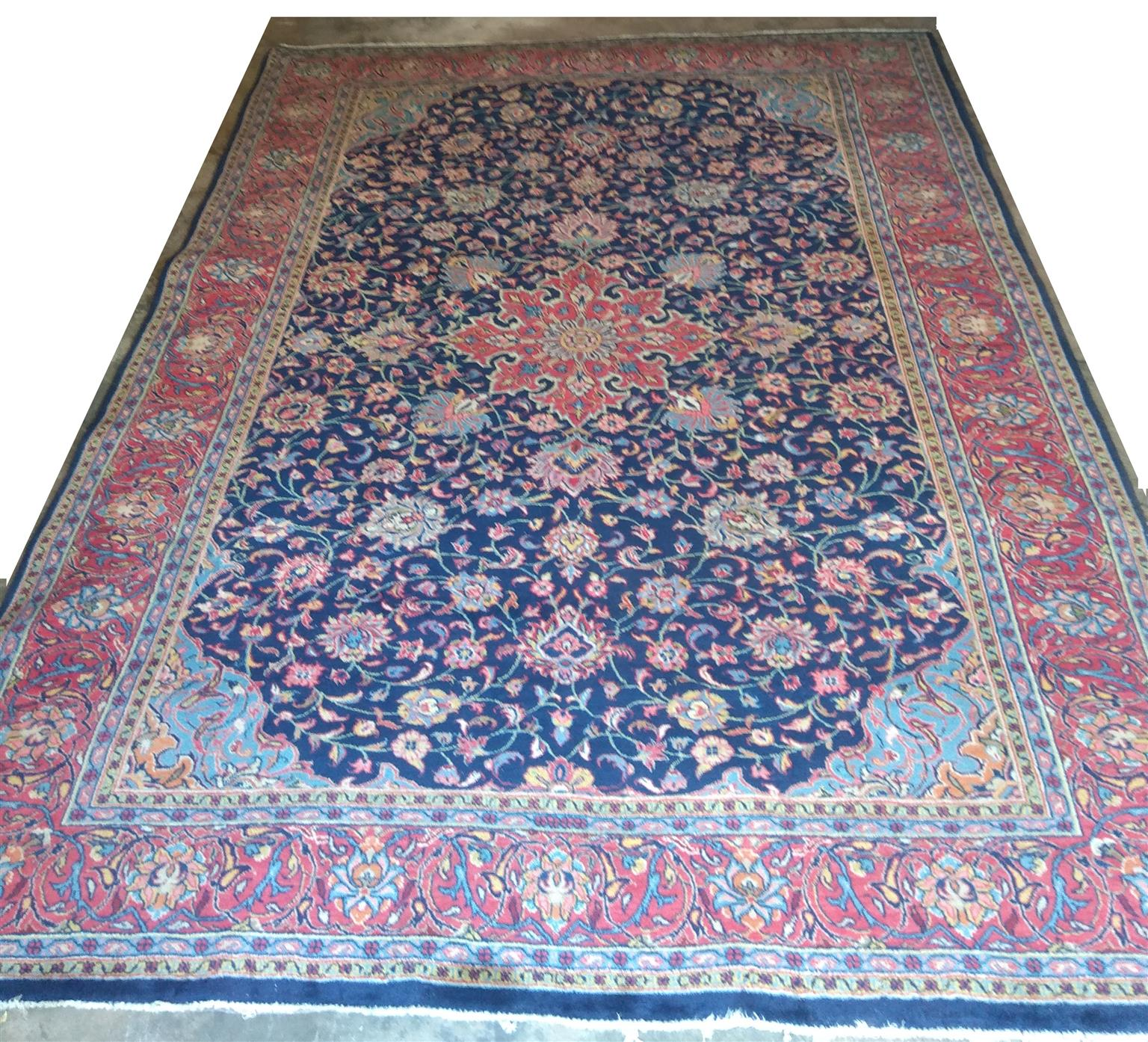 Sarouk Persian carpet (3200mm x 2240mm)