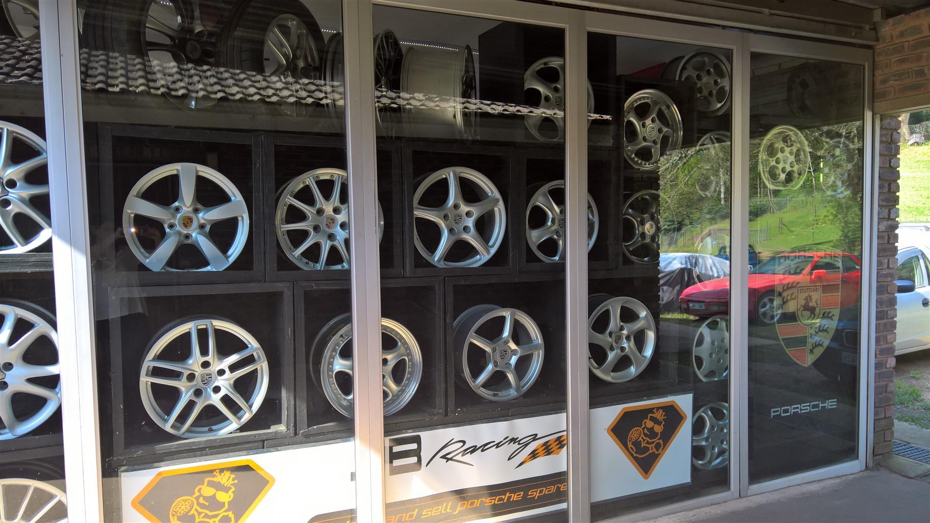Porsche wheels for sale over 60 sets