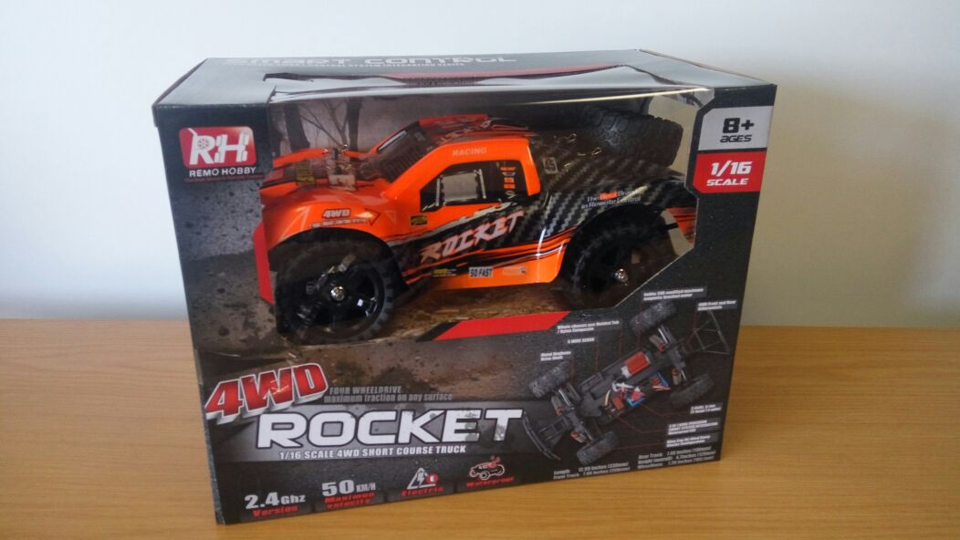 RC Truck 4WD Rocket