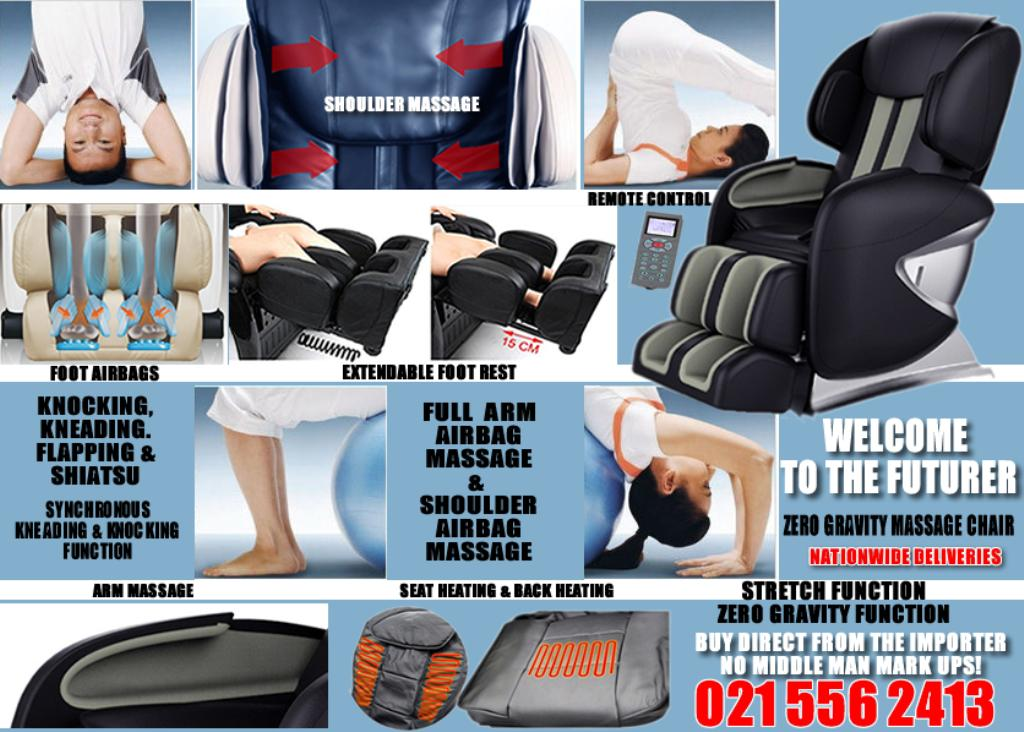 Relax your body with THE FUTURER ZERO GRAVITY massage chair