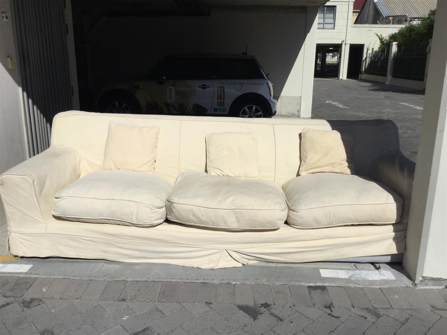 Used 3 seater coricraft couch