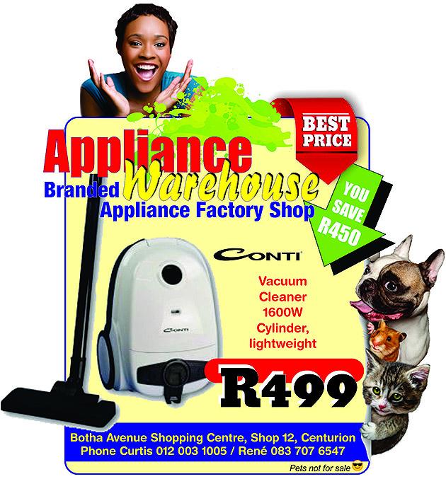 Conti 1600W  vacuum cleaner