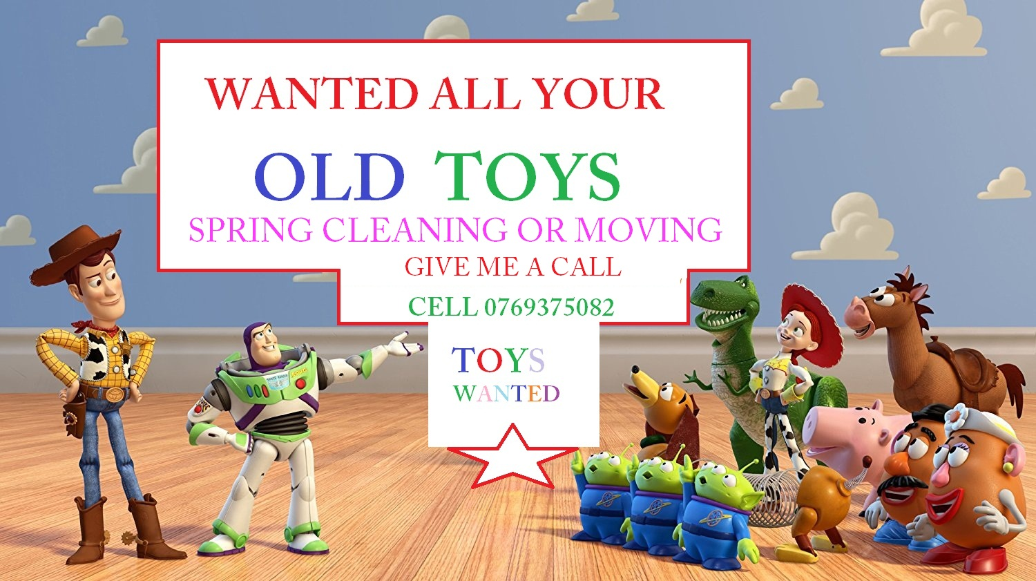 All Toy's Wanted